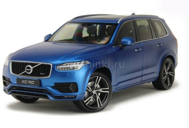 11009BL 14+ GT AUTOS WELLY GT AUTOS 1/18 VOLVO XC90 кроссовер 4х4 2015 metallic blue