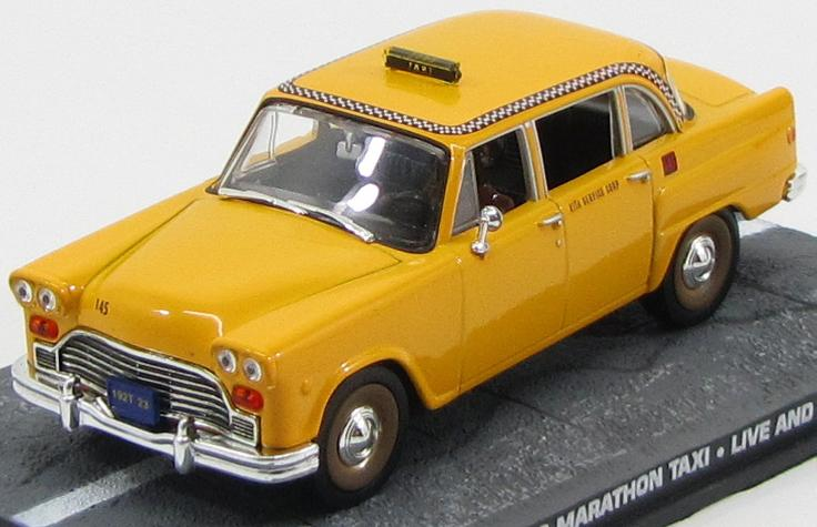 jb77 GE FABBRI (James Bond 007) Checker Marathon Taxi - James Bond 007 «Live And Let Die»