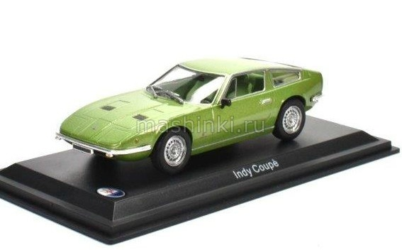 MA009 14+ ALTAYA ALTAYA 1/43 MASERATI Indy Coupe 1969 light green