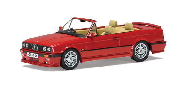 VA13700 VANGUARDS BMW 3-SERIES ALPINA 2.5 (E30) CABRIOLET - RED 1991