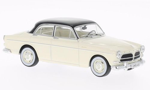 WB062 IXO (WHITEBOX) VOLVO 120 Amazon Creme/Black 1956
